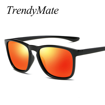 TrendyMate Polarized Men's Sunglasses Unisex Style Metal Hinges Polaroid Lens Top Quality Original Oculos De Sol Masculino 1129T