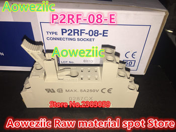 Aoweziic (10PCS) new original Relay pedestal P2RF-08-E five foot adaptation G2R-2-SND(S) G2R-2-SN(S)