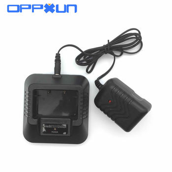 OPPXUN EU or US UV5R Charger For Portable Two Way Radio Walkie Talkie Baofeng Uv-5r Uv5re 5RB Uv5ra Desktop Charger Accessories