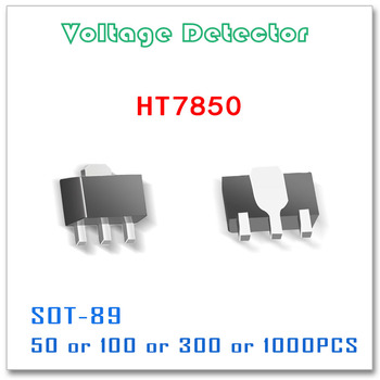 SOT-89 HT7850 50PCS 100PCS 300PCS 1000PCS HT7850A HT7850A-1 three-termi Tolerance 3% Voltage Detector Original 500MA