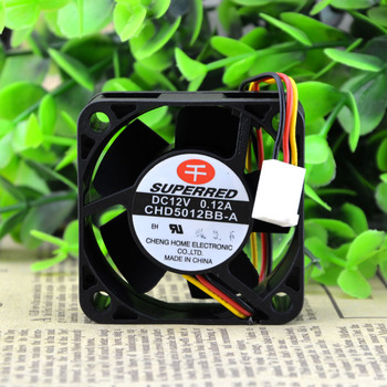 SUPERRED 5020 5CM Double ball bearing 12V 0.12A CHD5012BB-A cooling fan 50X50X20MM