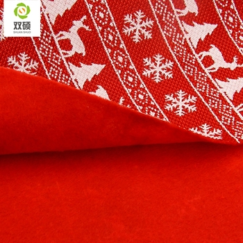 ShuanShuo Composite Fabric For New Year Christmas DIY Decoration Hat Bag Bell Stocking Precut Quar Bundle 10PCS/LOT 20X50CM