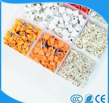 2340pcs/lot set Wire Copper Crimp Connector Insulated Cord Pin End Terminal 15 Model kit 22 ~ 14 AWG