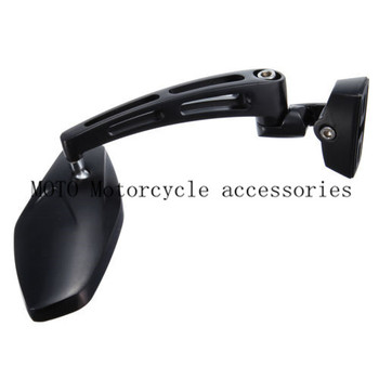 Chrome/Black Motorcycle Rearview Mirror Side View Mirror For GSXR1000 GSXR1100 GSXR600 SV650 Hayabusa 1300 Motor Rearview Mirror