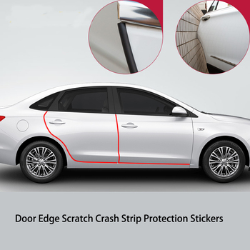 Car Styling Door Edge Scratch Crash Protection Strip For chevrolet cruze sonic aveo lacetti captiva trax Equinox malibu
