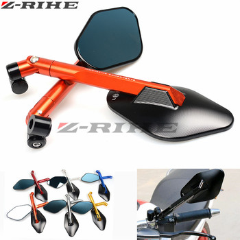 Rearview Mirrors For Suzuki GSX-S1000 GSXS1000 Gladius GSR 400 750 600 SV 650 CNC Aluminum Mirror Motorcycle Scooter Accessories
