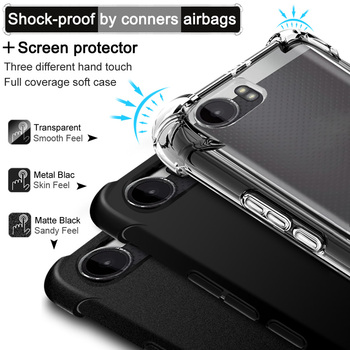 IMAK sFor SHARP AQUOS S2 Case Shock-resistant Shockproof Silicone Soft Transparent TPU Cover Case For SHARP AQUOS S2