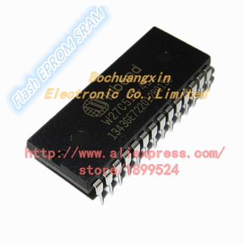 50pcs/1lot W27C512-45Z W27C512 27C512 W27C512 64K*8 ELECTRICALLY ERAS ABL EEPROM DIP28