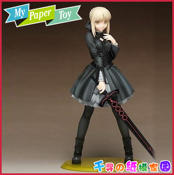 Mielas anime mergina Fate stay night Dress edition Swordsman