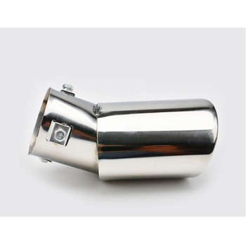 For Suzuki Vitara 2016 2017 2018 car Styling muffler exterior end pipe dedicate stainless steel exhaust tip tail 1pcs